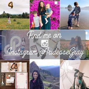Find Me On Instagram: 📸 @IridesseGray